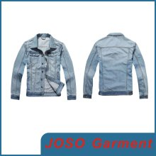 Men Faded Denim Jean Jacket (JC7007)