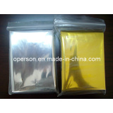 Disposable Windproof and Waterproof Emergency Blanket with CE&FDA