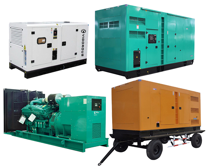 Diesel Genset Powered by SHANGCHAI