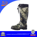 Camouflage Rubber Boots with Nylon Collar