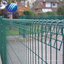 galvanisierter geschweißter Zaun pulverbeschichteter Gitterzaun PV-Kraftwerk-Sicherheitszaun