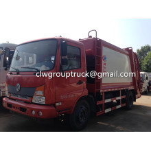 Dongfeng 7CBM Side Mounted Compression Sampah Lori