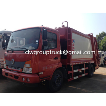 Dongfeng 7CBM Side Mounted Compression Sampah Truck