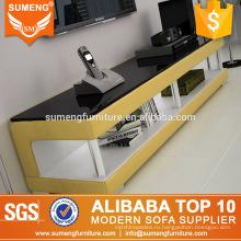 SUMENG дешевые простой угловой стойки TV древесины ТВ шкаф