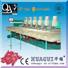 Bordado de preço económico HUAGUI máquinas com função da fixação do rhinestone