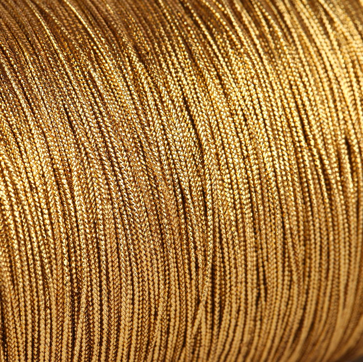 Gold Cord For Packaging