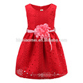 La robe de fille d'enfant de vêtements faits sur commande d'enfants de qualité pour la robe de fille de modèle d'été