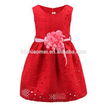High Quality Children Custom Clothing Child Girl Dress For Summer Model Girl Dress