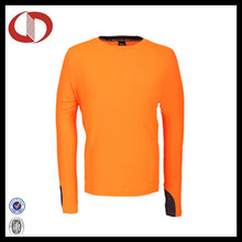Long Sleeve Breathable Polyester Running Shirts for Men