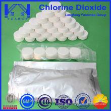 Vente directe de dioxyde de chlore à l'usine pour le traitement de l'eau