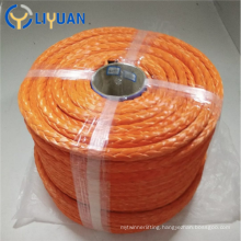 High strength marine mooring UHMWPE rope