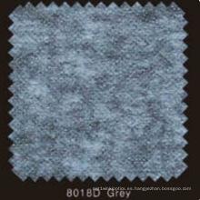 Gray Color Non Woven Double DOT Fusible Interlineado con PA en polvo (8018D gris)