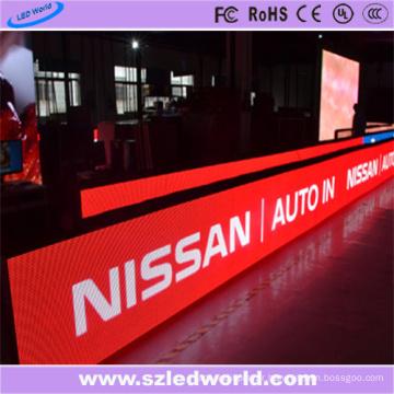 Panneau d'affichage à LED CMS multicolore P10 Vente chaude