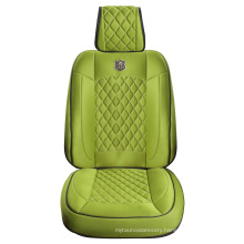 Car Seat Cover 3D Universal Shape with Viscose Fabric-Green