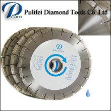 Herramientas de corte de diamante Cuchilla de corte de segmento de diamante para piedra de corte circular