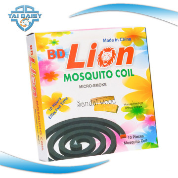 Bobina Mosquito Preta Inquebrável para o Mercado de África