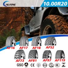 TBR resistente pneu tubo pneumático do caminhão (a unidade padrão para 1000R20 1100R20 1200R20 13R22.5)