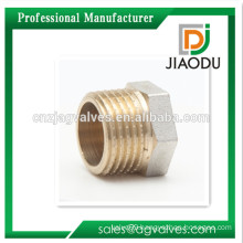 1/2 Inch male 3/4 Inch male 1 Inch male Brass/ Nickel plated /Chrome plated, Yellow thread Brass Plug fitting