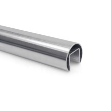 Cheapest Astm Welded Steel Pipe Grade 304 / 201 / 430 / 316 Slotted Stainless Steel Pipe For Handrail