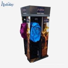 Supermarket Wholesale High Quality Box School Bag Display Stand,Bag Display Cabinet