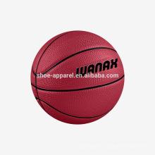 Alta calidad y bajo precio de baloncesto de goma