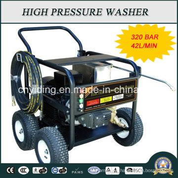 Máquina de limpeza de pressão elétrica com bomba de ar industrial 320bar (HPW-QK1842C)