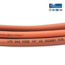 Good Quality Flexible Fiber Braid LPG Hose Gas Rubber Welding Hose