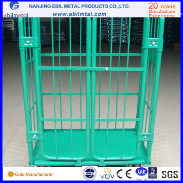 Popular Metal Roll Container / Foldable Metal Table Trolley