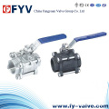3 PC Female Threaded Ball Valve (BS5351)