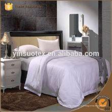 Tissu d'hôtel en coton blanc pour la literie