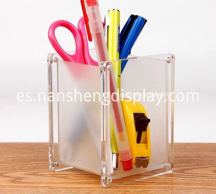Clear Stationery Holder
