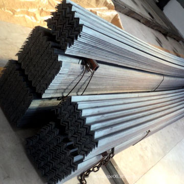 Ângulo de aço preto igual e desigual