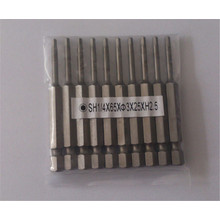 New design durable screw driver drill bits