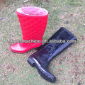 Chaussures de pluie automatiques en PVC bicolore faisant la machine