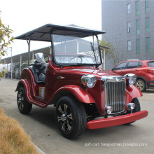 4 Persons Electric Vehicle Classic Car