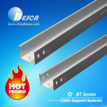 BESCA FRP/Stainless Steel/Aluminum/Galvanized Cable Trunking UL standard