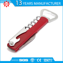 Cerveza de acero inoxidable y vino tinto Multi-Function Bottle Opener