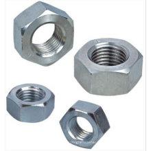 Noix hexagonale en acier inoxydable DIN934 avec passivation