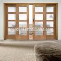 Wooden two leaf three leaf four leaf hang sliding doors