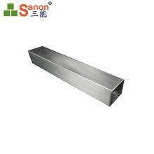 rectangular handrail tube 304 brushed/satin finished stainless steel decorative pipe