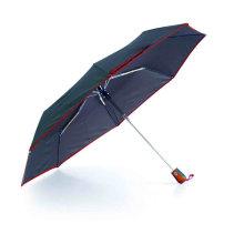 Edged Solid Compact Duomatic Umbrellas (YS-3FD22083509R)