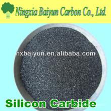 Abrasives schwarzes Siliziumkarbidpulver Preis