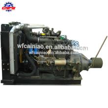 Motor diesel estacionário do poder do cilindro 6113ZLP 6 com polia de correia