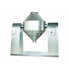 Secador de vácuo giratório de cone duplo para material de fibra química