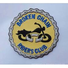 Parche de bordado Insignias de organización redondas con logotipos (GZHY-PATCH-008)