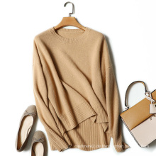 Frauen Winter schwere Pullover Rundhals lange Ärmel Pullover Pullover 100% Kaschmir Strickpullover