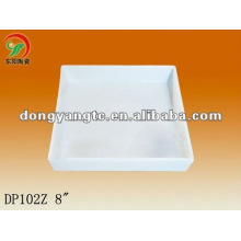 4.8|6|8 Inch ceramic serving plate