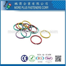 Taiwan High Quality Different Size Different Color Viton O Ring EPDM O Ring NBR O Ring Manufacturer