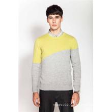 100% кашемир зимой трикотажные свитера Мужчины Jumper