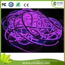 Purple 120V Neon Flex LED avec l'approbation d'UL